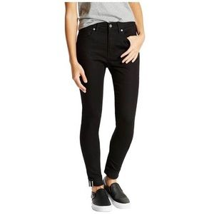 Levi's Commuter Jeans Women's Black Skinnys